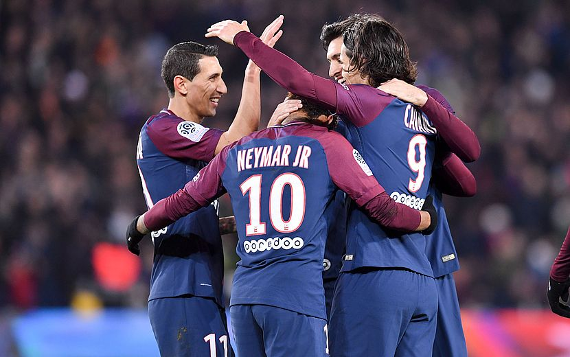 Nantes : Notes > Cavani et Paris régalent encore